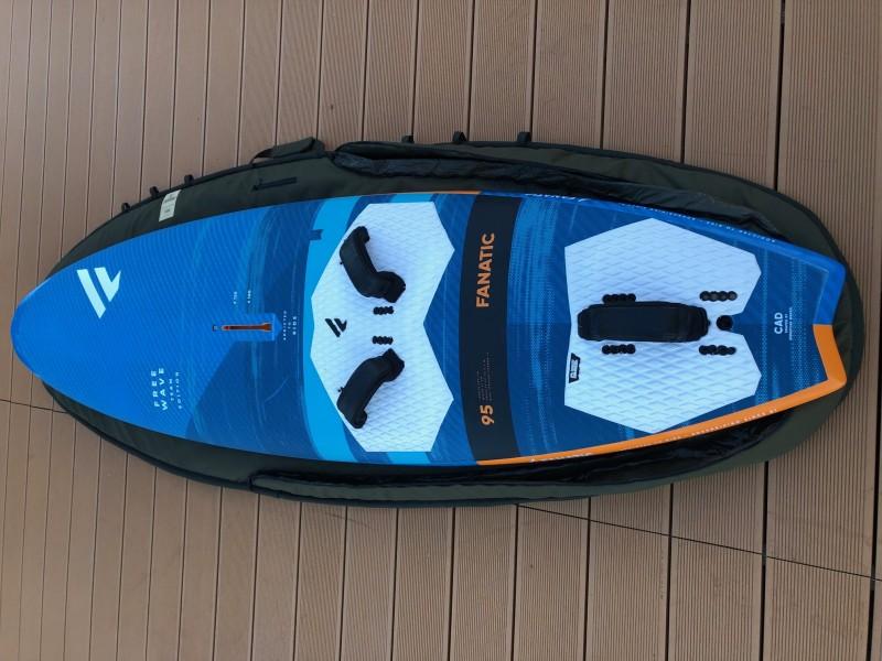 Fanatic Freewave TE 95 (2020-as) windsurf deszka WINDSURF DESZKA