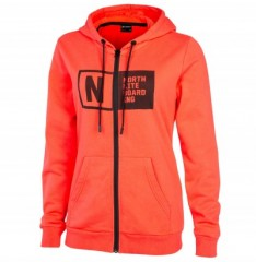 North Kite Zip Hoody Team WMS (2018) női pulóver